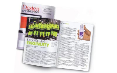 Enginuity is on Design Engineering Magazine