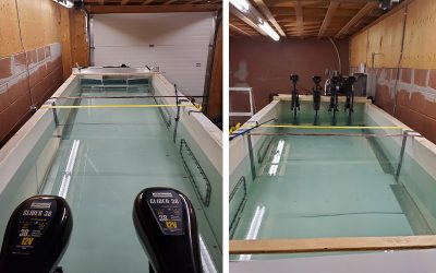 Enginuity's new flume tank opens doors for underwater technology testing to drive innovation during shutdown.