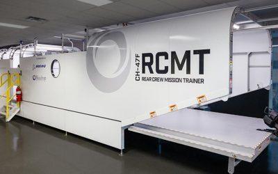 Rear Crew Mission Trainer Virtual Reality Training Simulators