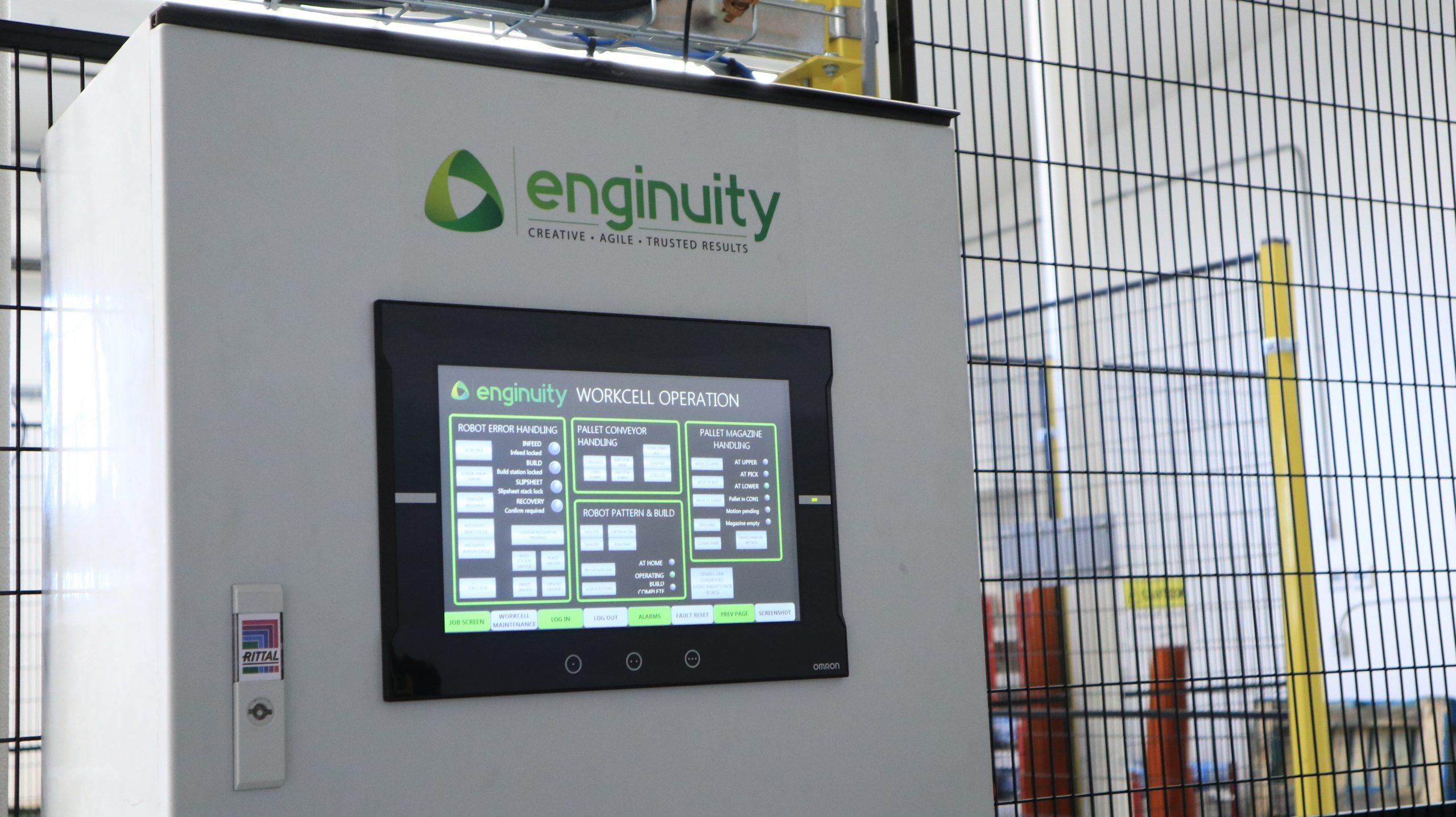 SCADA Control System enginuity