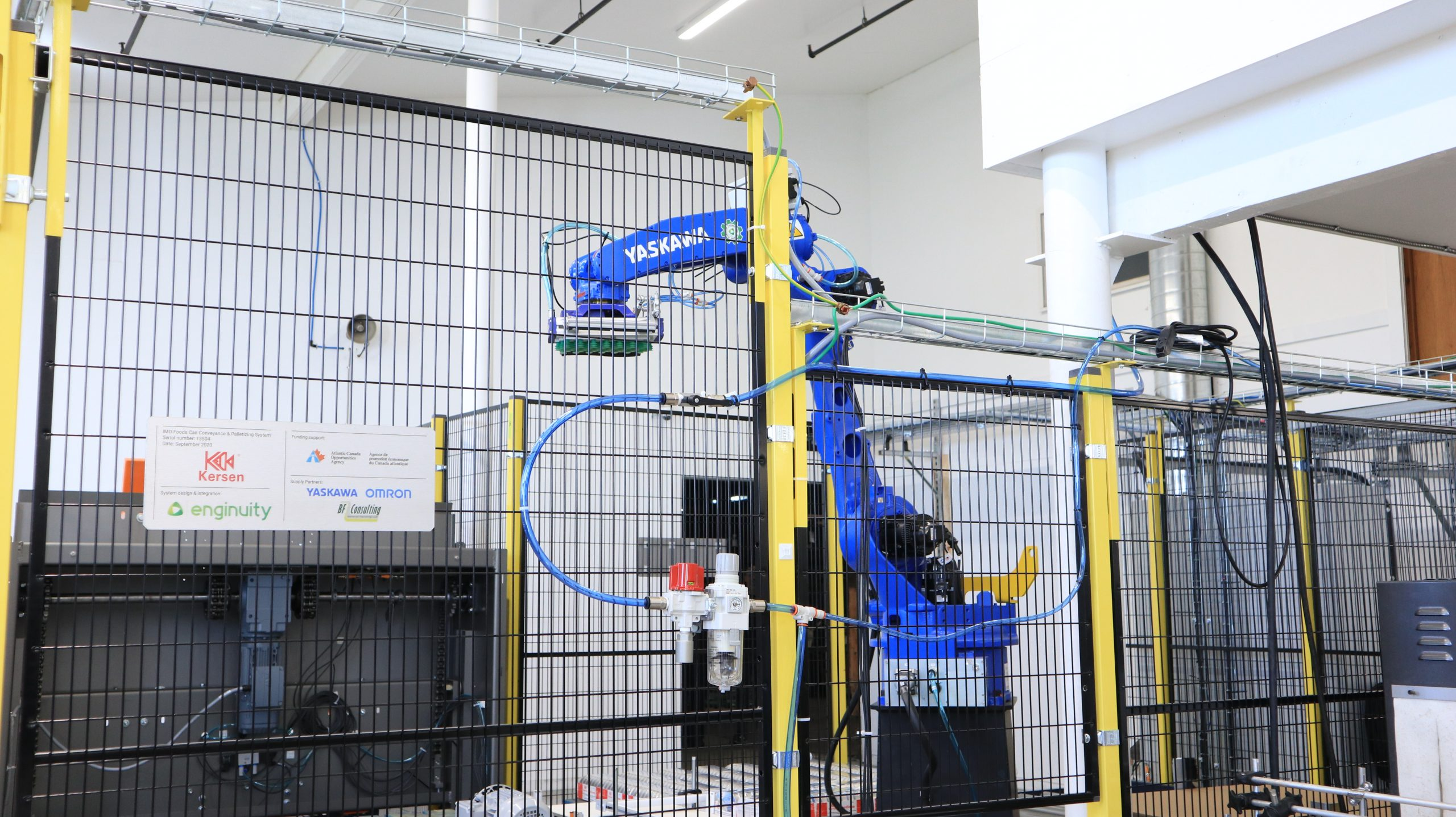 Robot Robotic Cell enginuity