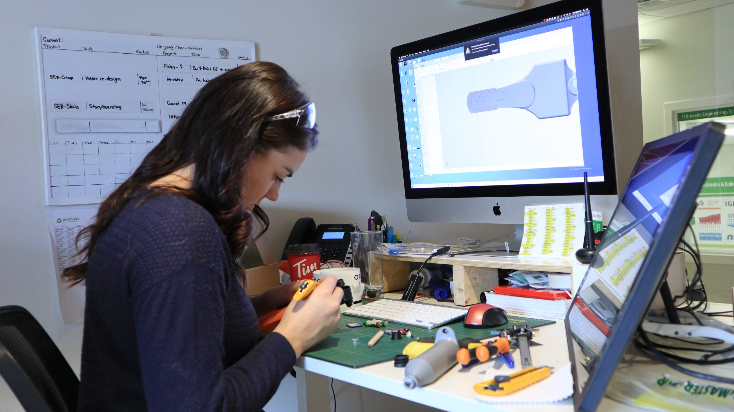 Industrial Designer working