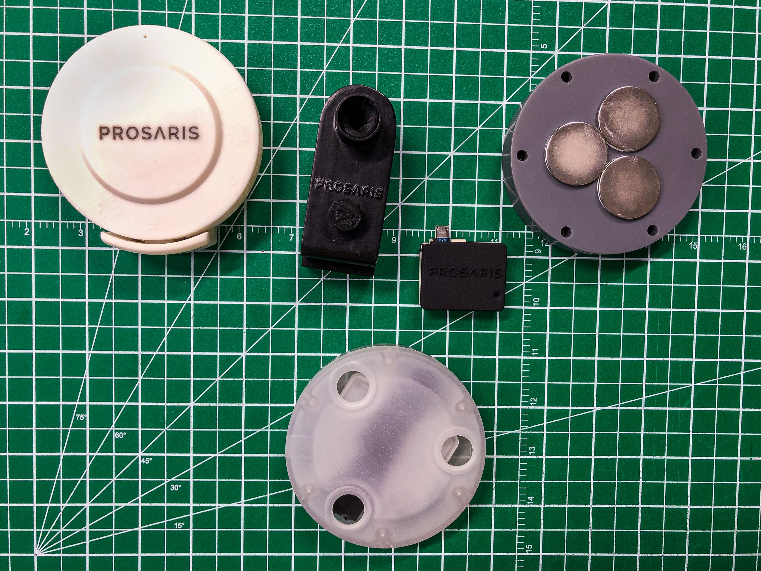 prosaris enginuity ultrasonic leak detector product development prototype